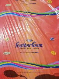 pu feather foam sheet sleepwell for