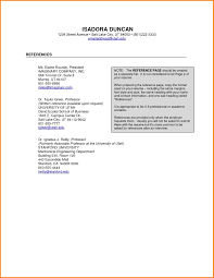 Professional Reference Resume Template