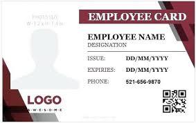 Free Id Badge Template Employee Id Badge Template Free Id Badge Template Best Id Templates