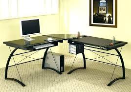 glass and wood desk glass and wood desk glass wood computer desk en glass top wooden