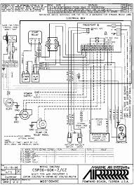 goodman wiring diagram air handler wiring diagram and schematic goodman wiring diagram eljac
