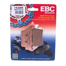 Ebc Motorcycle Brake Pads Application Chart Fa208 Organic Rear Ebc Brake Pads For Triumph