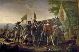 John Vanderlyn Landing Of Columbus Christopher