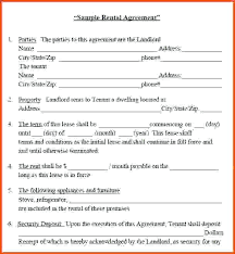 House Rental Application Lease Template Form Agreement – Otograf Site
