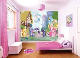 Wonderful My Little Pony Room Makeover | My Little Pony Walltastic   Room Scene