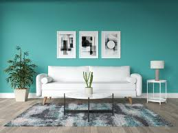 color furniture goes with teal walls