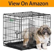 Midwest Dog Crate Size Chart Small Dog Crate Best Wire Dog Crates 2018 Reviews