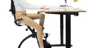 under desk exercise bike desk stationary bike easy ergonomics on the under desk exercise bike fit