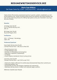 Lpn Resume Sample Example Licensed Practical Nurse Nursing Samples