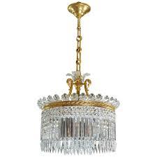 baccarat re crinoline nine lite chandelier for