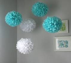 Tissue Balls Party Decorations Tiffany Tissue Paper Poms Wedding Birthday Baby Shower 21