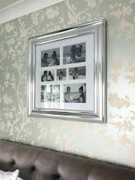 silver collage photo frames silver wall frames silver collage frame next 7 aperture silver template