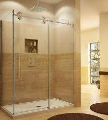 sliding glass shower doors. Fleurco KTW26036-CRP Two Sided Symmetry Kinetik Hardware Systems Sliding Glass Shower Door Doors
