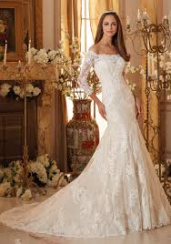 Lace Appliques On Soft Tulle Wedding Dress Morilee