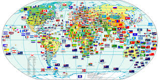 And next, we tried to memorize each flag. World Flags World Maps Map Pictures