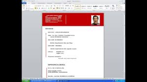 Formatos De Curriculum Simple Como Hacer Curriculum Vitae En 5 Minutos Descargar Modelo