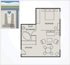 The open-plan Studio apartments range from Standard to Seafront. Most  studios have a sleeper couch. Seafront Studios overlook the beach and have  superb ...