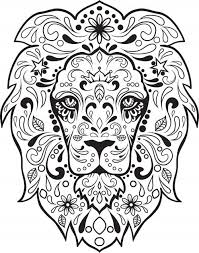 Small Picture 311 best Skull Day of the dead coloring images on Pinterest