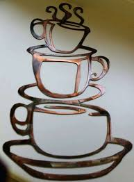 coffee metal wall art metal coffee cup wall art lovely coffee cups lg kitchen home decor