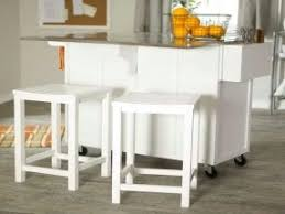 Fine Kitchen Island Cart With Stools Randall Portable Optional Contemporary And Perfect Design
