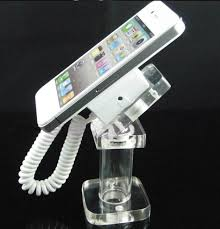 Cell Phone Display Stands Mobile Phone Security Display Stand China Manufacturer Spring 84