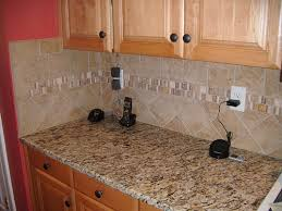 Backsplash For Santa Cecilia Granite Countertop Awesome Santa Cecilia Granite With Tile Backsplash Charlotte NC Photo