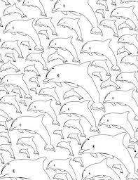 Small Picture Calming Dolphin Adult Coloring Page Adult coloring Colour book