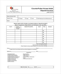 An Example Of An Invoice Example Invoice JP Designs 30
