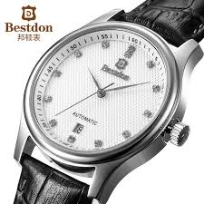 popular affordable automatic watch buy cheap affordable automatic bestdon affordable luxury brand men leather strap watch self wind automatic mechanical watches best designer