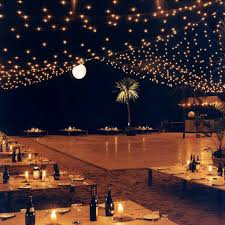 outside wedding lighting ideas. outdoor wedding granted this is a beach and my tables will be lot higher outside lighting ideas
