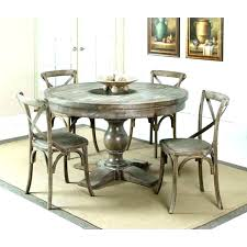 distressed dining table set black nice decoration round dinin