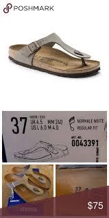 Birkenstock Shoe Size Chart Uk Birkenstock Gizeh Sandal Not Accepting Offers New In Box