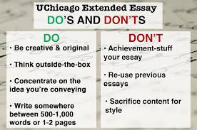 how to get into university of chicago admissions requirements dosdontsuchicago