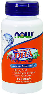 NOW Supplements, DHA Kids 100 mg, Supports Brain ... - Amazon.com