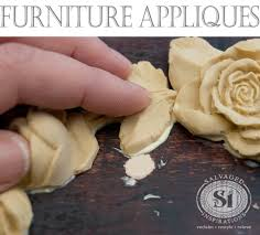 appliques for furniture. gluingonresinfurnitureapplique1 appliques for furniture u