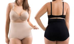 Plus Size Tummy Control Body Shaping Invisible Panties Groupon