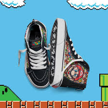 vans nintendo shoes. nintendo in tie-up with shoe brand vans. vans shoes r