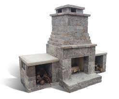 fremont outdoor fireplace fremont outdoor fireplace with wood bo