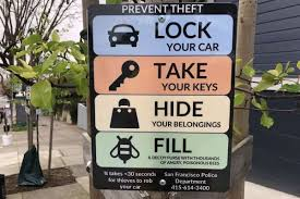 How To Prevent Car Break Ins In Sf Signs Suggest Angry