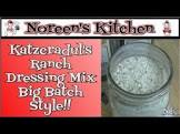 big batch ranch dressing mix