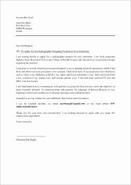 Sample Cover Letter For Resume Word Doc Sample Cover Letter For Resume By Email Example Of Fresh Graduate 36