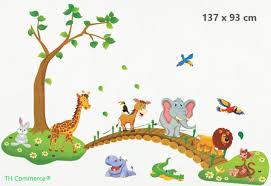Top Honderd Muursticker Jungle Dieren Dierentuin
