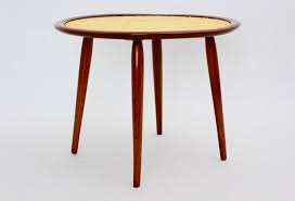 mid century austrian cherrywood coffee table by max kment