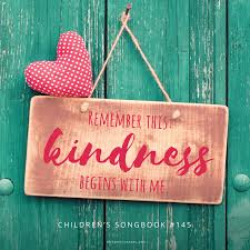 So on days where you wake up a bit grumpier than usual. Kindness