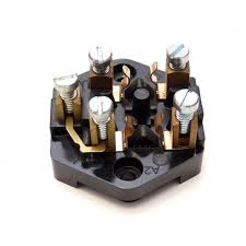 fuse box early screw terminals from esm morris minors uk fuse box early screw terminals