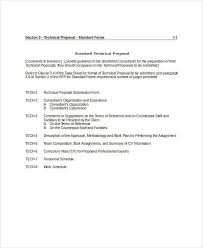 Technical Proposal Templates 36 Simple Proposal Formats Examples Pdf Doc Pages Examples