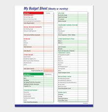 Weekly Budget Template - 16+ Smart Planners For Excel & Pdf