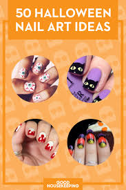 55+ Halloween Nail Art Ideas - Easy Halloween Nail Polish Designs