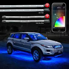 App Controlled Interior Car Lights Xkglow Xkchrome Ios Android App Bluetooth Control