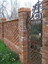 Small Picture 13 Brick Fence and Column Designs A Quick Planning Guide
